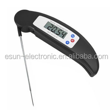 ESUN EN-2023 Ultra Fast Instant Read Digital Barbecue Meat Thermometer With Folded Probe