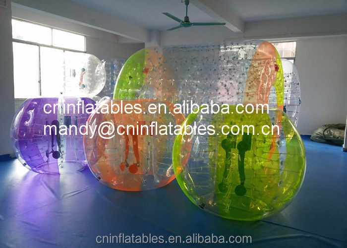 Giant Inflatable Human Bubble Soccer Ball