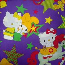 Polyester Pongee Woven Fabric,Thick Polyester Fabric,Polyester Small Flower Print Fabric