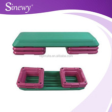 2015 Hot sale---New material environmental fitness gym Aerobic step