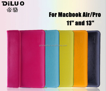 Factory Price PU Leather Sleeve For 11'' and 13'' Macbook Air/Pro
