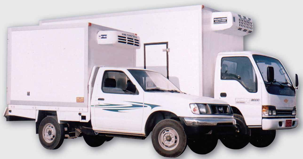 Refrigerated Trucks Insulated Boxes