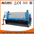 3mm CNC Hydraulic Sheet Shearer for ACCURL CE standard