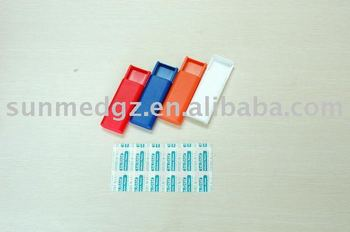 mini plaster pull out set,bandage box,plaster box,bandage dispenser,mini plaster box,plaster kit,,Adhesive bandage dispenser