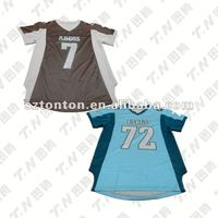 Youth's custom made American football jersey