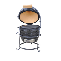 Mini Outdoor Kitchen Kamado Egg Charcoal Ceramic Grill/Smoker