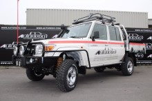 Landcruiser HZJ 79 Double Cab Mining Edition