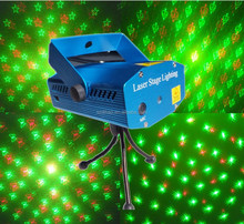 DIHAO Tech Full Star Mini Laser Stage Lighting Projector for Christmas Hoidays