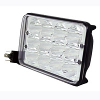 Car Truck Tractor 5 Inch Square 45W Auto Led Headlight