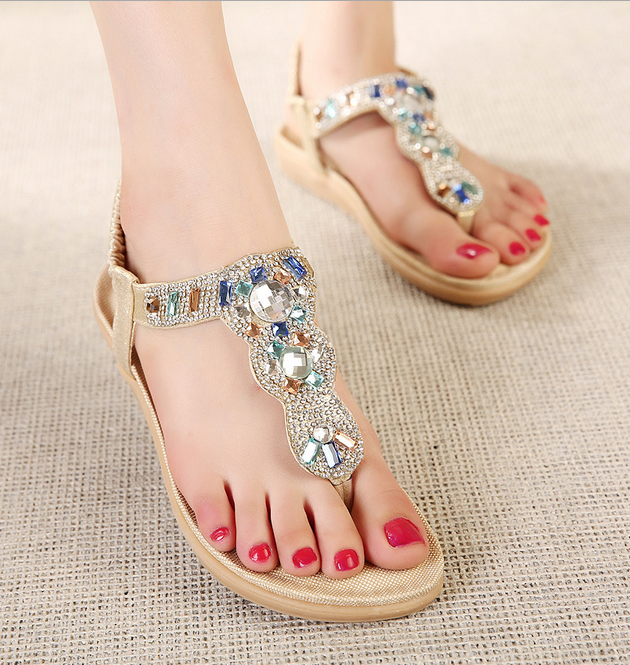 2016 flip-flops diamond beach new model women sandals