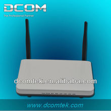 4 10/100M LAN ports with two fixed antennes wireless ap wifi router