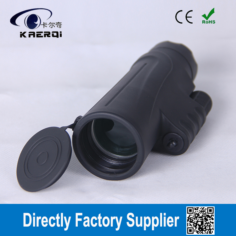 10x42 waterproof monocular with side hand strap