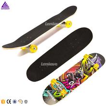Cheap maple wood mini cruiser skateboard