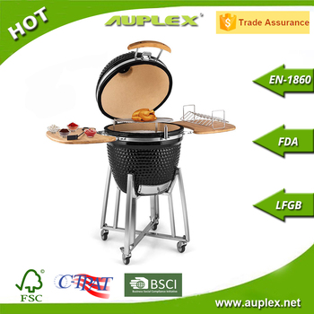 2017 China Auplex Wholesale Large Kamado Barbeque Clay Charcoal Grill