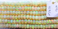 #CCZ Top Quality Roundel Plain Beads Strand Ethiopian Opal
