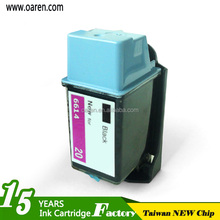 for hp20 Ink Cartridge Remanufactured High Quality Ink Cartridge for hp 20 Inkjet