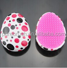 Hot Sell Detangling hair brush with water transfer print