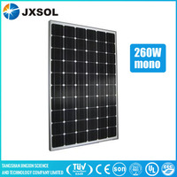 High quality 260w monocrystalline silicon solar panel solar PV module