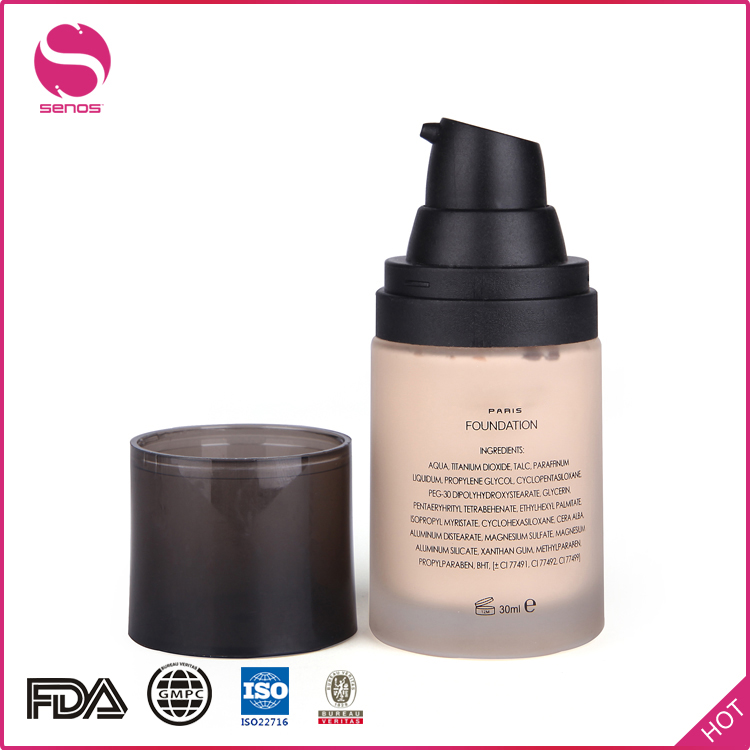 Senos Manufacturer OEM Waterproof Liquid Face Base Makeup Foundation For Festival Common Occasion