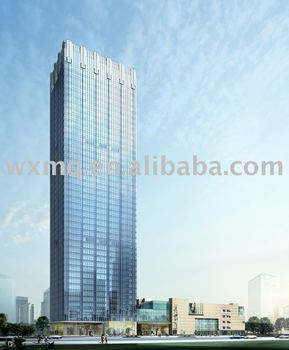 Curtain wall project--Great Wall Tower Shanghai