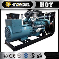 220kVA Doosan Silent Type Diesel Genset with 1,500/1,800rpm Rated Speed