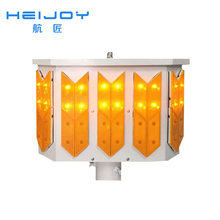 HEIJOY-STL-26 zhejiang powered led stop and go light Solar traffic lights