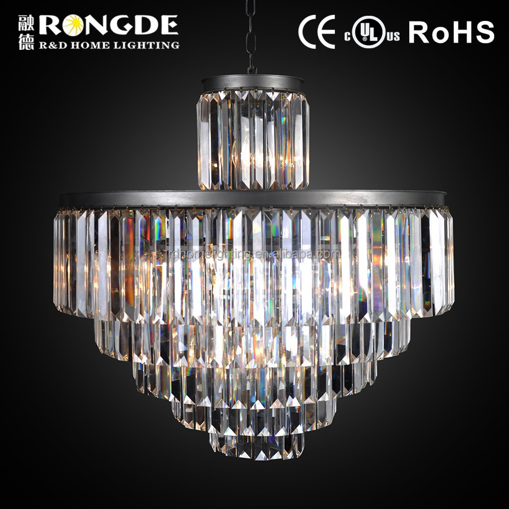 Design solutions international modern crystal moroccan chandelier