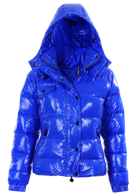 2015 Winter New women Goose down jackets parka Monclearlis lady Women Blue coats 90% white duck down Coat Hooded coat