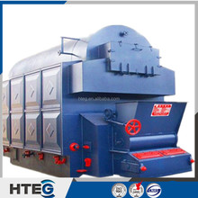 Single double drum water tube wood fueled industrial biomass steam boiler
