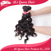 Beautiful ali queen hair non-chemically processed natural hair for sale
