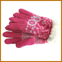 promotion lady bus driving gloves mini factory