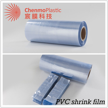 Blown/draw pvc shrink film material manufacturer in Yiwu
