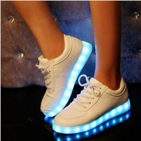 C88373A wholesale fashion cycle rider LED man shoes