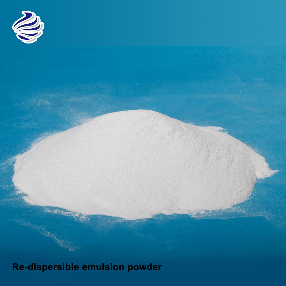 Re-dispersible emulsion powder use with cement