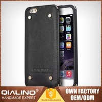 Brand New High Quality Cheap Price First Layer Leather Custom Cell Phone Case For Iphone 6