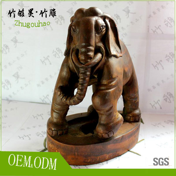 Personal collection bamboo root carving crafts / bamboo handicrafts