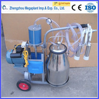 mobile small vacuum pump type penis milking machine