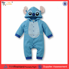 PGCC2030 No moq baby clothing full body stitch costume baby infant halloween costume
