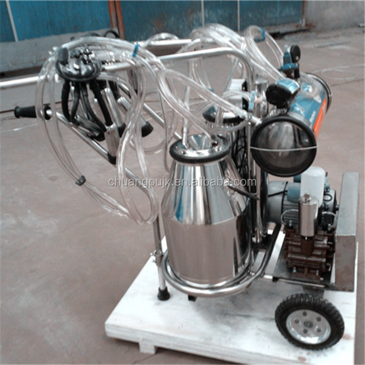 Vacuum Pump Double Bucket Milking Machines for Men