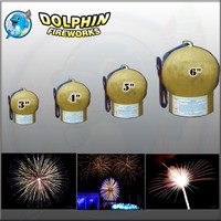 "Dolphin fireworks display shell fireworks 2.5""3""4""5""6"""