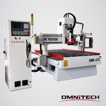 Automatically Changing Tools Wood Engraving Machine China CNC Router With CE Certificate