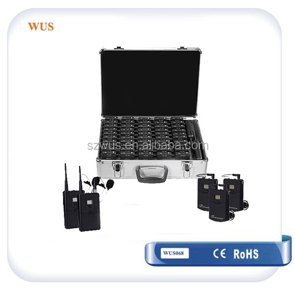 Portable Audio Guide/Tour Guide Equipment for tourism/travel company/simultaneous interpretation