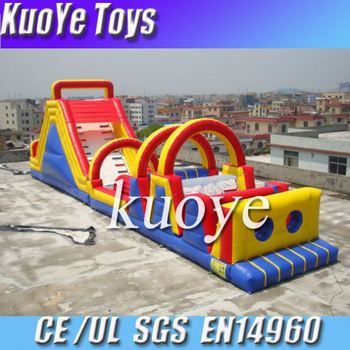 wholesale price obstacle inflatable obstacle course of manufacture