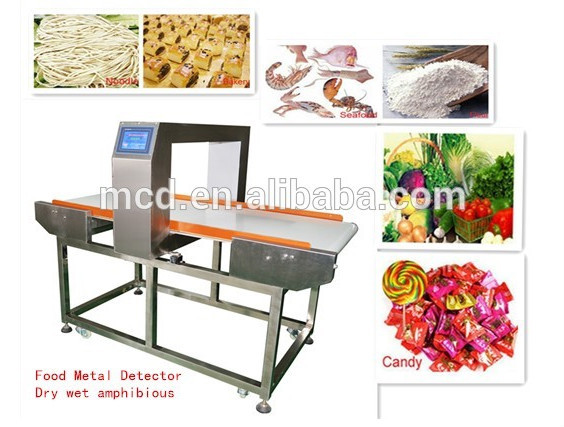 2017 latest Industry Conveyor Food Metal Detector
