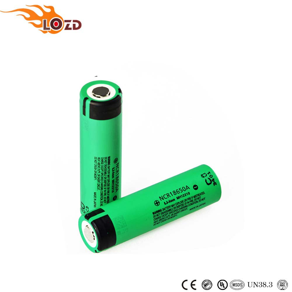Authentic NCR 18650A 3100mAh 3.7V rechargeable battery li-ion for panasonic 18650 battery