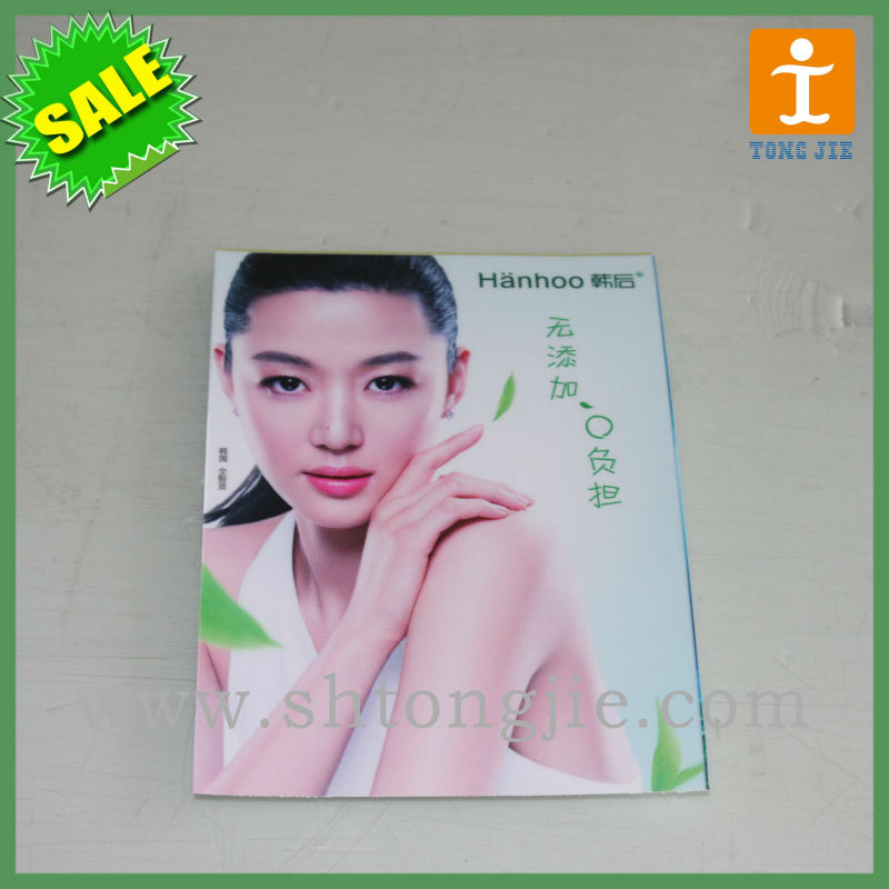 Adhesive back photo paper