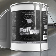 Full Dip removable metalized liquid dip rubber paint