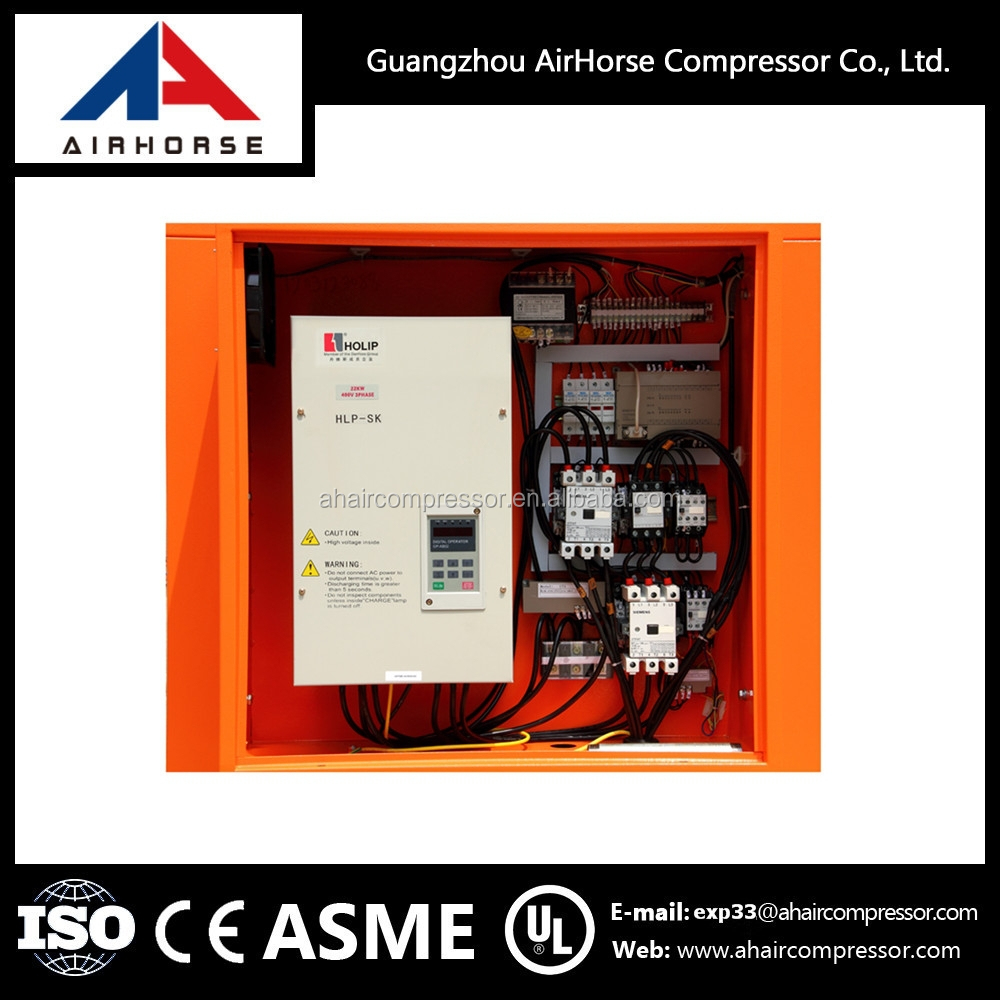 Inverter Controlled Type 20HP Screw Air Compressor