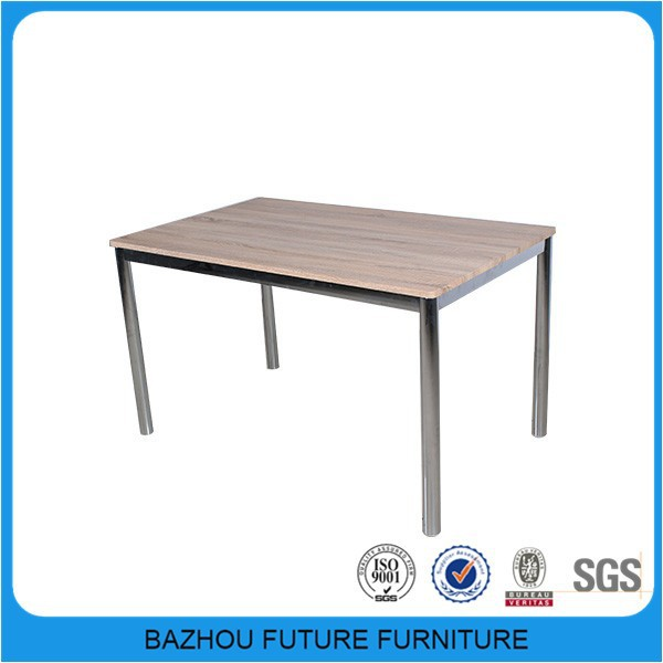 Simple design wholesale price cheap dining table and chair for restaurant