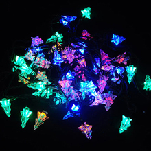 Christmas Tree Shaped Lights 5M LED String Lights With Controller End Plug Can Choose